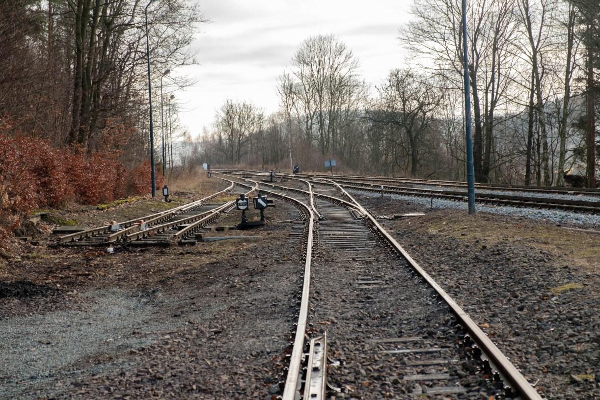 trasa Wałbrzych-Kłodzko w okolicach Ludwikowic Kłodzkich
