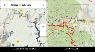 Mapa Turystyczna Locus